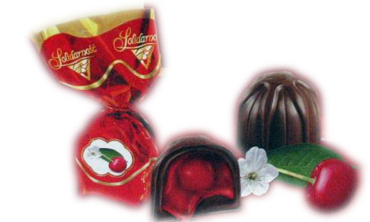 "Chocolate candies ""Cherry in liqueur"" 0.5 lb"