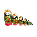 "Nesting Doll ""7 pcs Berry"""
